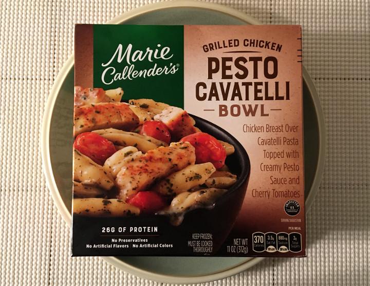 Marie Callender's Grilled Chicken Pesto Cavatelli Bowl