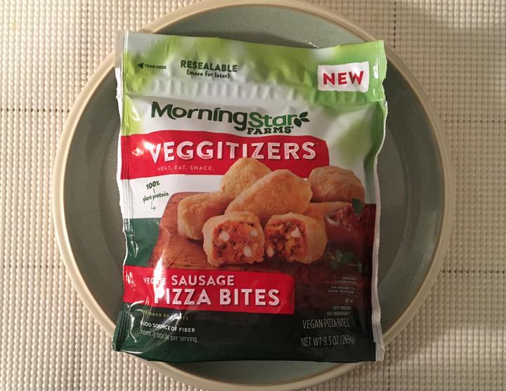Morningstar Farms Veggitizers Veggie Sausage Pizza Bites