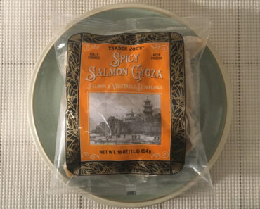 Trader Joe's Spicy Salmon Gyoza