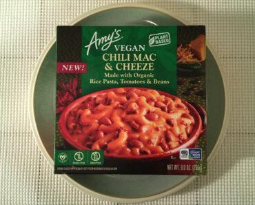 Amy's Vegan Chili Mac & Cheeze