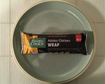Healthy Choice Adobo Chicken Wrap Review