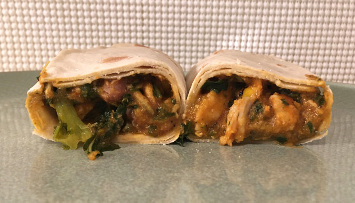 Healthy Choice Adobo Chicken Wrap