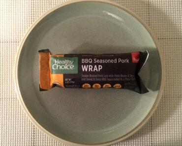 Healthy Choice BBQ Seasoned Pork Wrap Review