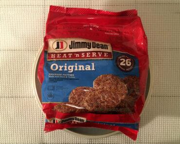 Jimmy Dean Heat 'n Serve Original Sausage Patties Value Pack