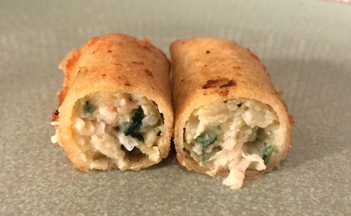 Lean Cuisine Features Garlic Chicken Spring Rolls