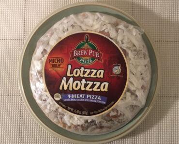 Lotzza Motzza Micro Brew 4-Meat Pizza