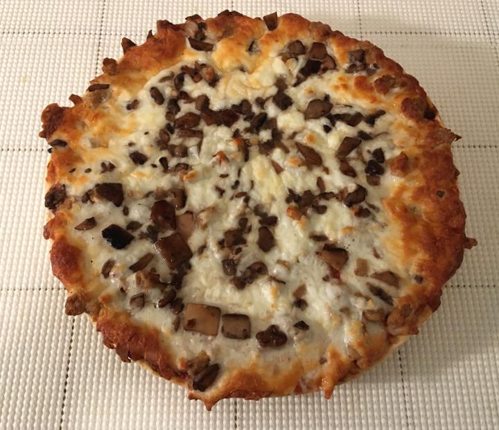 Lotzza Motzza Sausage & Mushroom Pizza