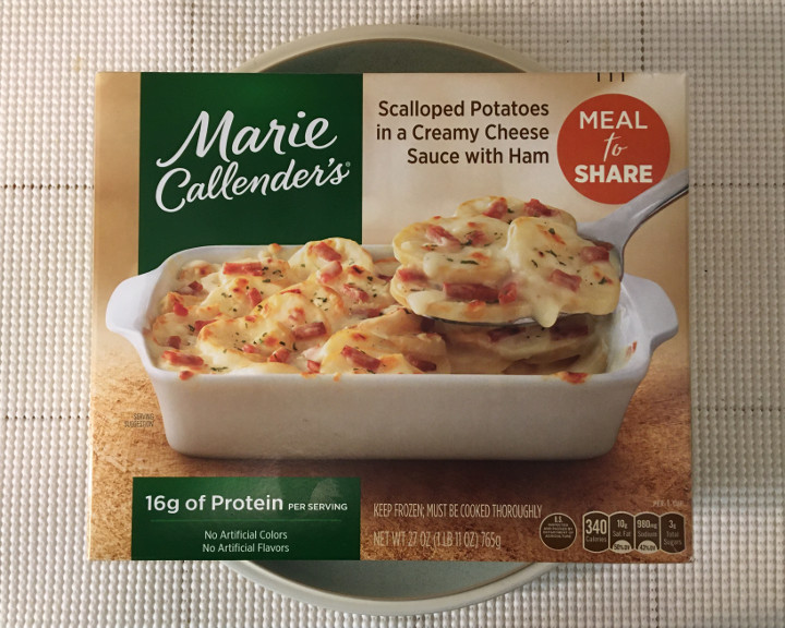 Marie Callender's Scalloped Potatoes in a Creamy Cheese Sauce with Ham