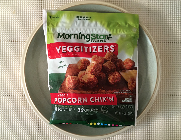 Morningstar Farms Veggitizers Veggie Popcorn Chik'n