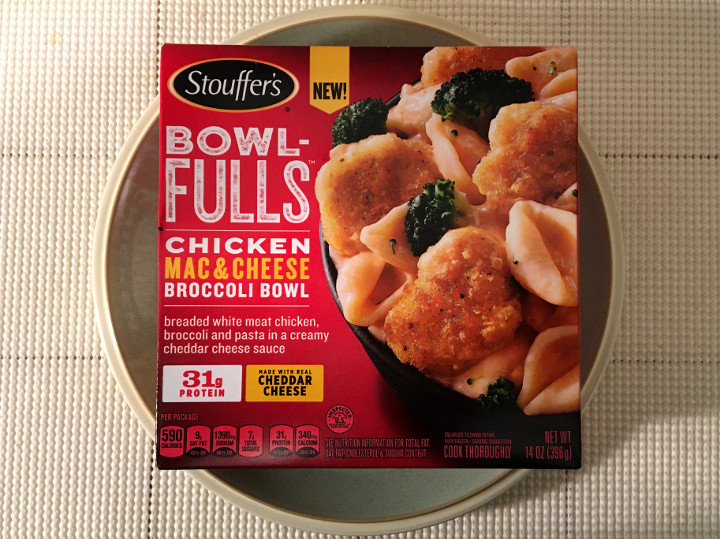 Stouffer's Bowl-Fulls: Chicken Mac & Cheese Broccoli Bowl
