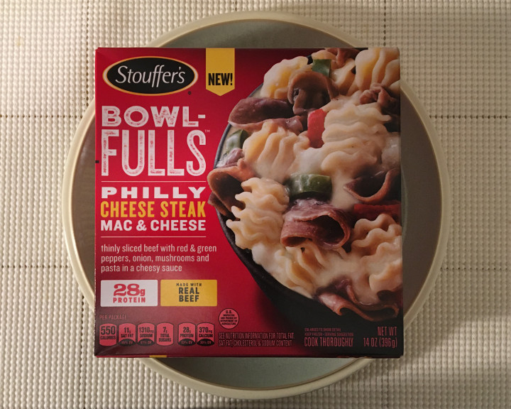 Stouffer's Bowl-Fulls: Philly Cheese Steak Mac & Cheese