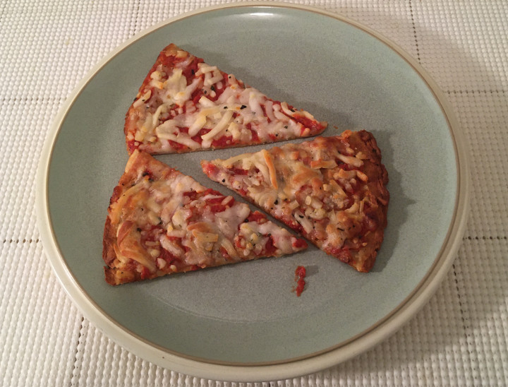 Trader Joe's Gluten Free Cheese Pizza with a Cauliflower Crust