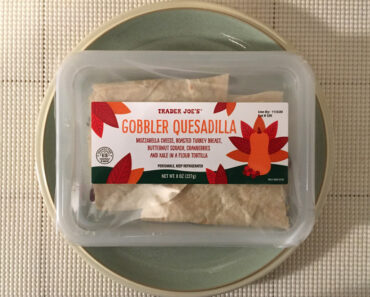 Trader Joe's Gobbler Quesadilla