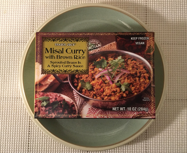 Trader Joe's Misal Curry with Brown Rice