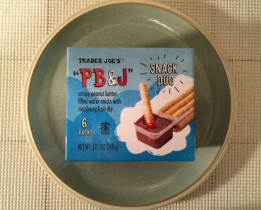 Trader Joe's PB & J Snack Duo Review
