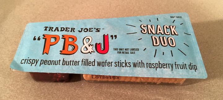 Trader Joe's PB&J Snack Duo