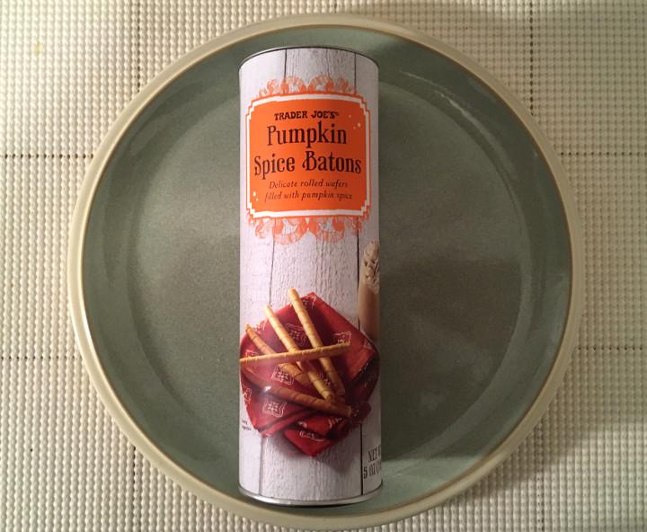 Trader Joe's Pumpkin Spice Batons
