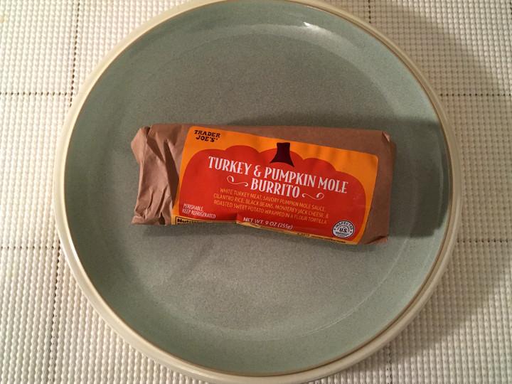Trader Joe's Turkey & Pumpkin Mole Burrito