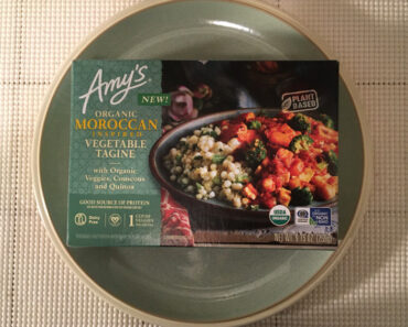 Amy's Organic Moroccan Inspired Vegetable Tagine Review