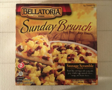 Bellatoria Sunday Brunch Sausage Scramble Pizza
