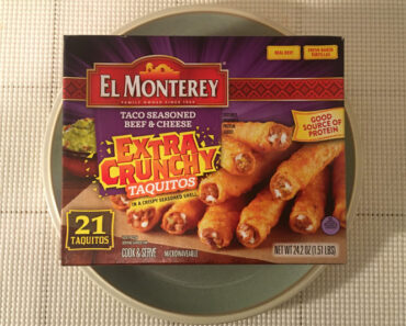 El Monterey Taco Seasoned Beef & Cheese Extra Crunchy Taquitos