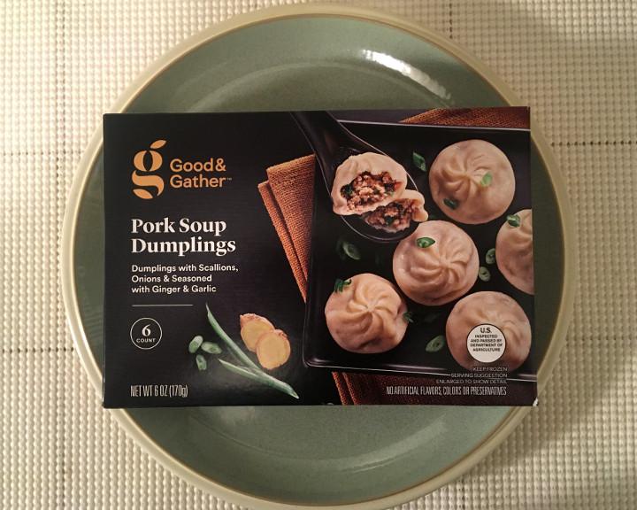 Good & Gather Pork Soup Dumplings
