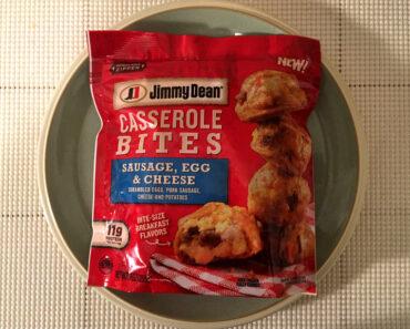 Jimmy Dean Sausage, Egg & Cheese Casserole Bites