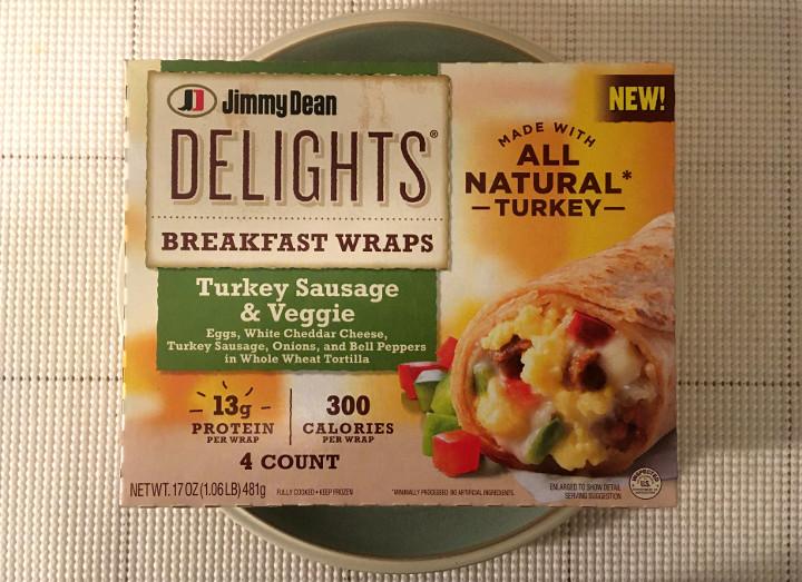 Jimmy Dean Delights Turkey Sausage & Veggie Breakfast Wraps
