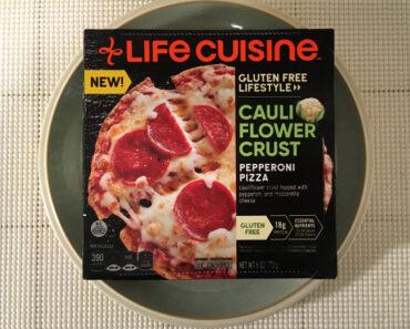 Life Cuisine Gluten Free Lifestyle Cauliflower Crust Pepperoni Pizza