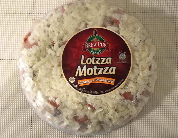Lotzza Motzza Sausage & Pepperoni Pizza