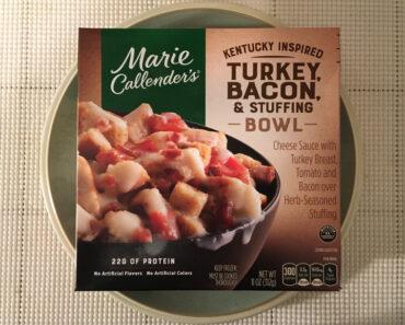 Marie Callender's Kentucky Inspired Turkey, Bacon, & Stuffing Bowl