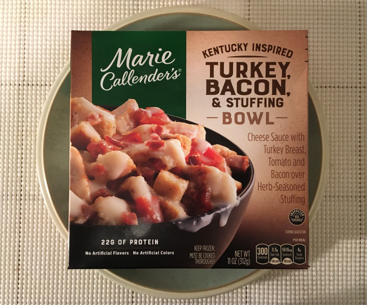 Marie Callender's Kentucky Inspired Turkey, Bacon, & Stuffing Bowl