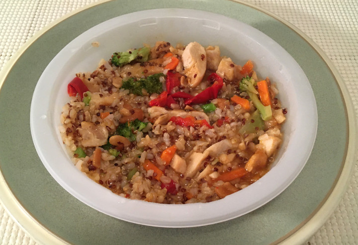 Stouffer's Fit Kitchen Chicken with Cashews Protein Bowl