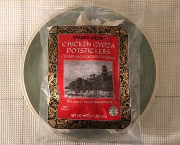 Trader Joe's Chicken Gyoza Potstickers Review