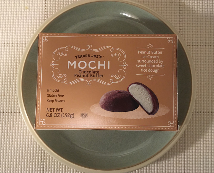 Trader Joe's Chocolate Peanut Butter Mochi