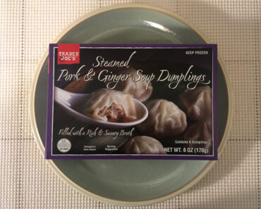 Trader Joe's Steamed Pork & Ginger Soup Dumplings