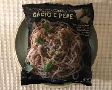 Trader Joe's Spaghetti Cacio e Pepe
