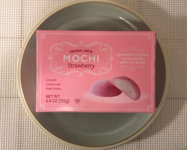 Trader Joe's Strawberry Mochi