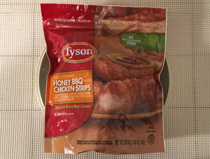 Tyson Fully Cooked Honey BBQ Chicken Strips