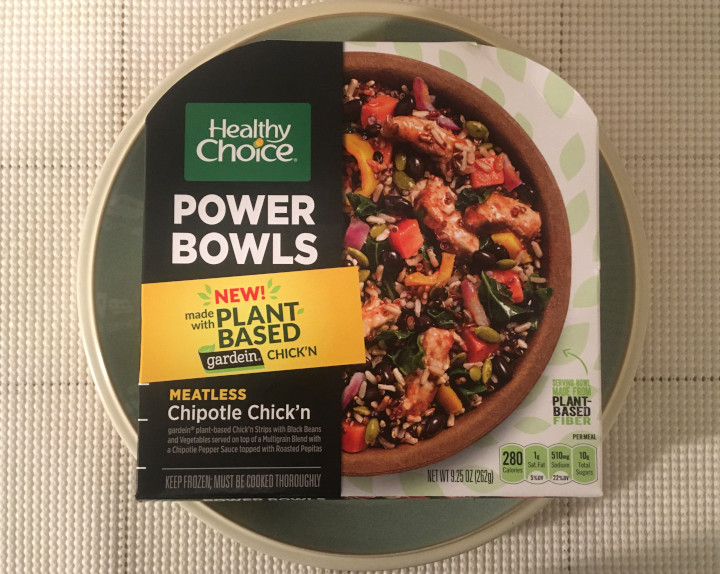 Healthy Choice Meatless Chipotle Chick'n Power Bowl