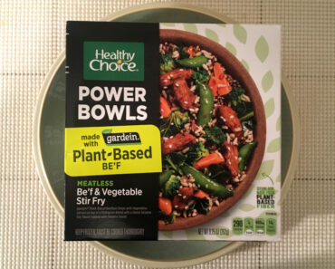 Healthy Choice Be'f & Vegetable Stir Fry Power Bowl Review