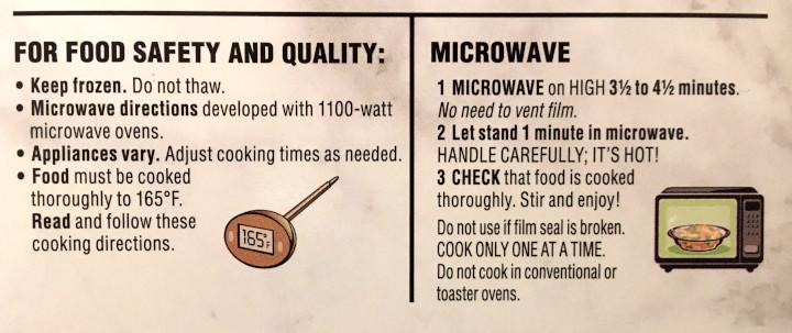 Healthy Choice Be'f & Vegetable Stir Fry Power Bowl