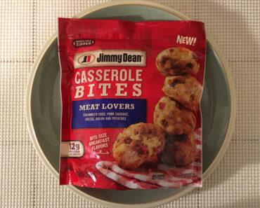 Jimmy Dean Meat Lovers Casserole Bites
