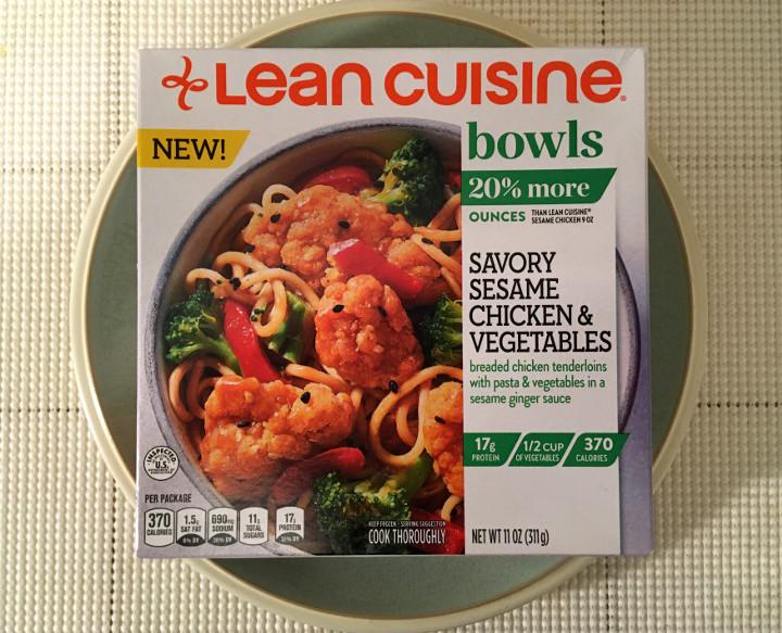 Lean Cuisine Savory Sesame Chicken & Vegetables Bowl