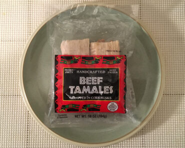 Trader Joe's Handcrafted Beef Tamales