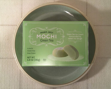 Trader Joe's Green Tea Mochi