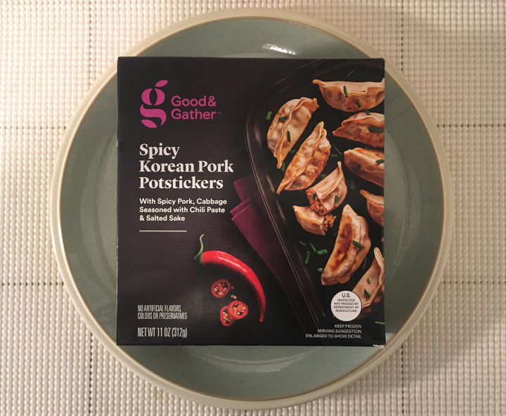 Good & Gather Spicy Korean Pork Potstickers