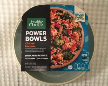 Healthy Choice Chicken Marinara Power Bowl Review