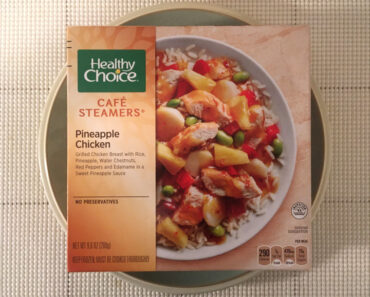 Healthy Choice Café Steamers Pineapple Chicken Bowl Review