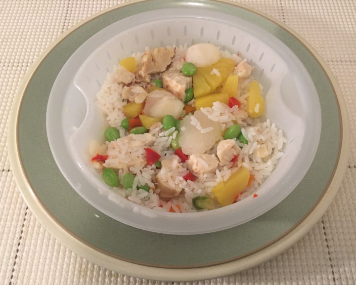 Healthy Choice Café Steamers Pineapple Chicken Bowl